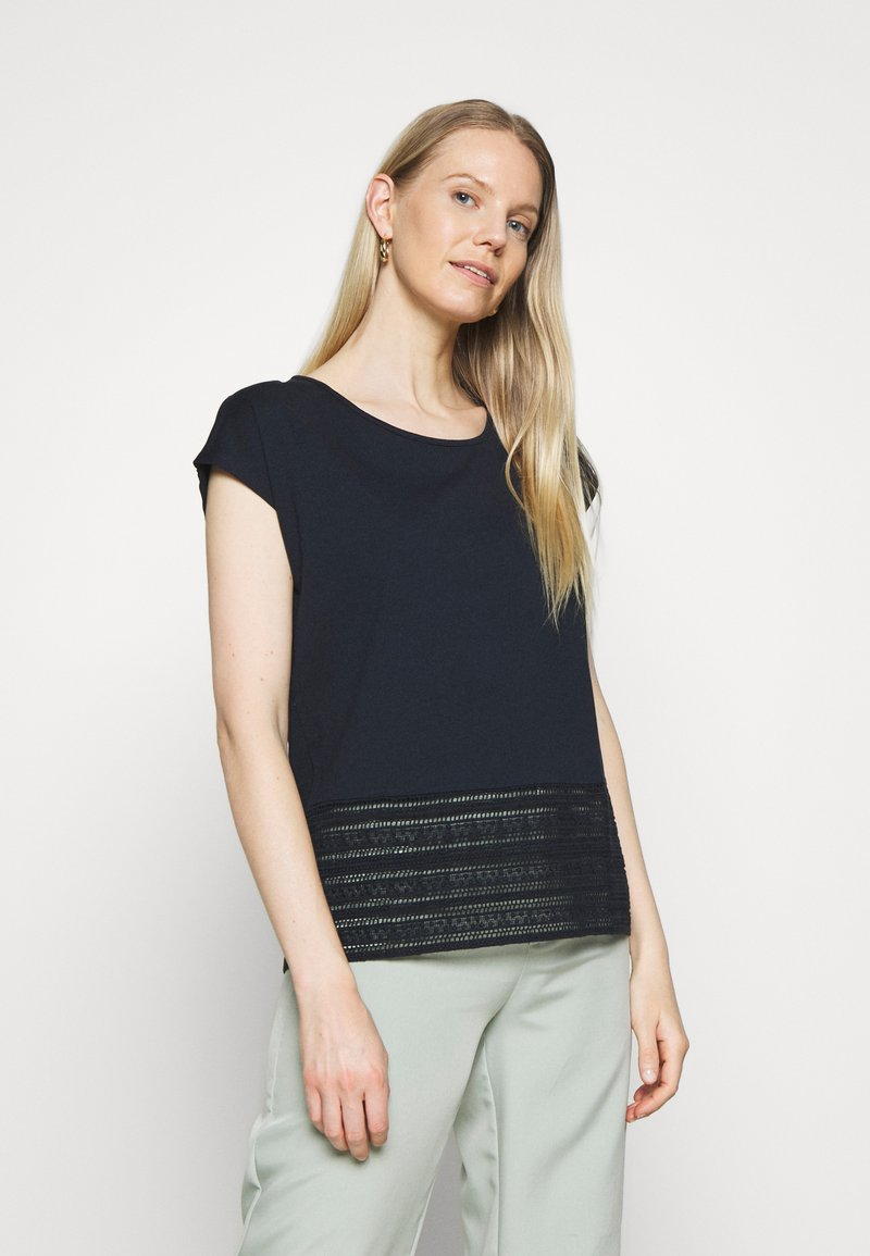 Betty & Co - T-shirt con stampa - navy blue