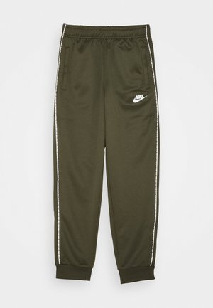 REPEAT - Trainingsbroek - khaki/white
