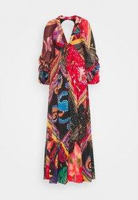 Farm Rio - DIAGONAL SCARF DRESS - Maxi dress - multi - 5