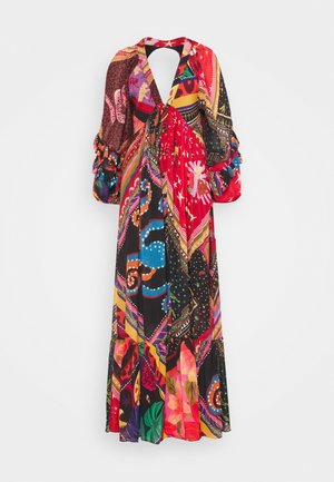 DIAGONAL SCARF DRESS - Maxi dress - multi