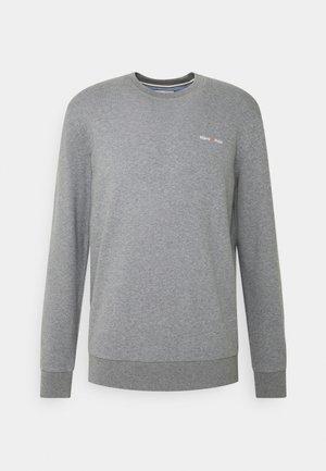 CREW NECK LONG SLEEVE - Sweatshirt - grey melange
