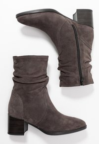 Tamaris - Classic ankle boots - anthracite - 3