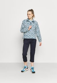 The North Face - PRINTED CLASS WINDBREAKER - Training jacket - blue/grey - 1