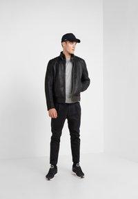 Belstaff - WESTLAKE JACKET - Leather jacket - black - 1