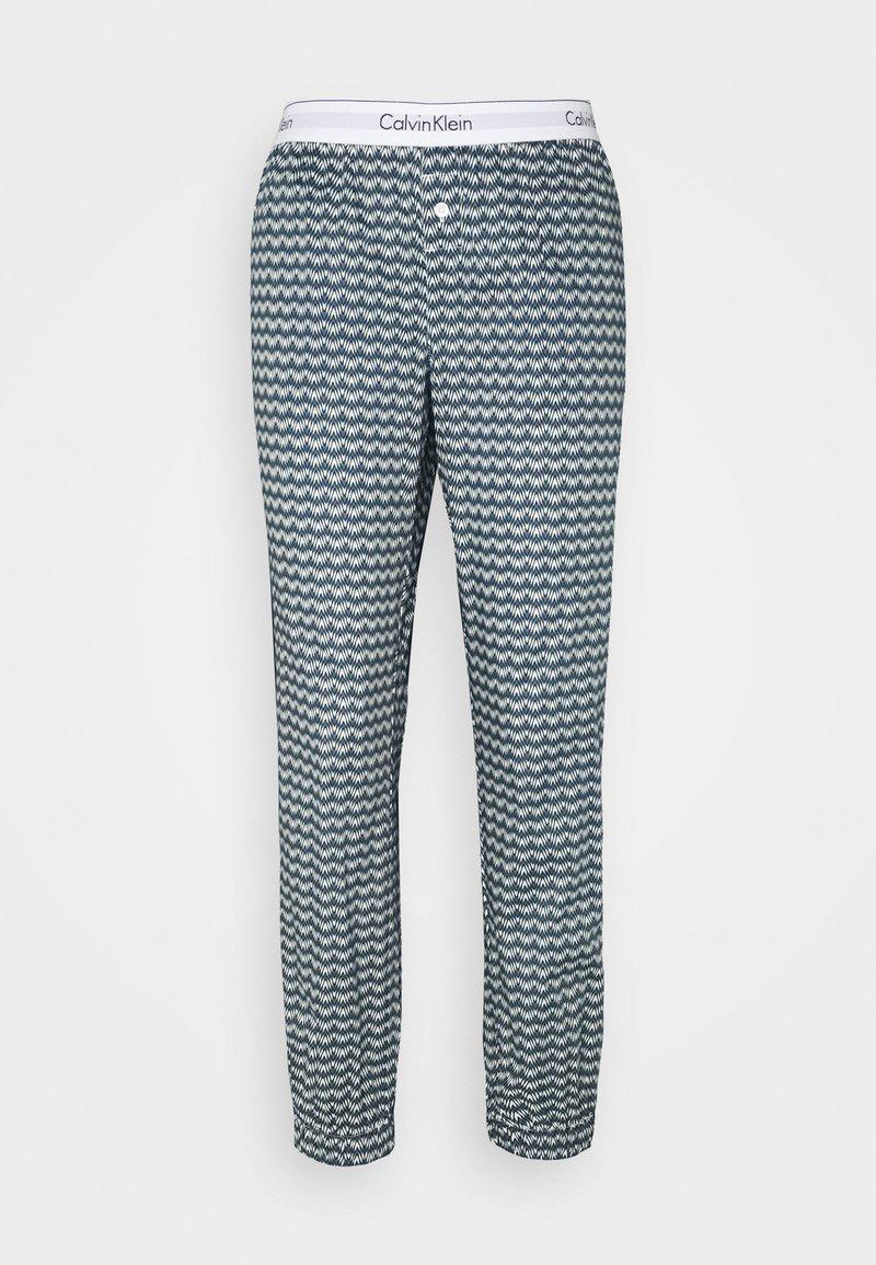 Calvin Klein Underwear - Pyjama bottoms - black/white