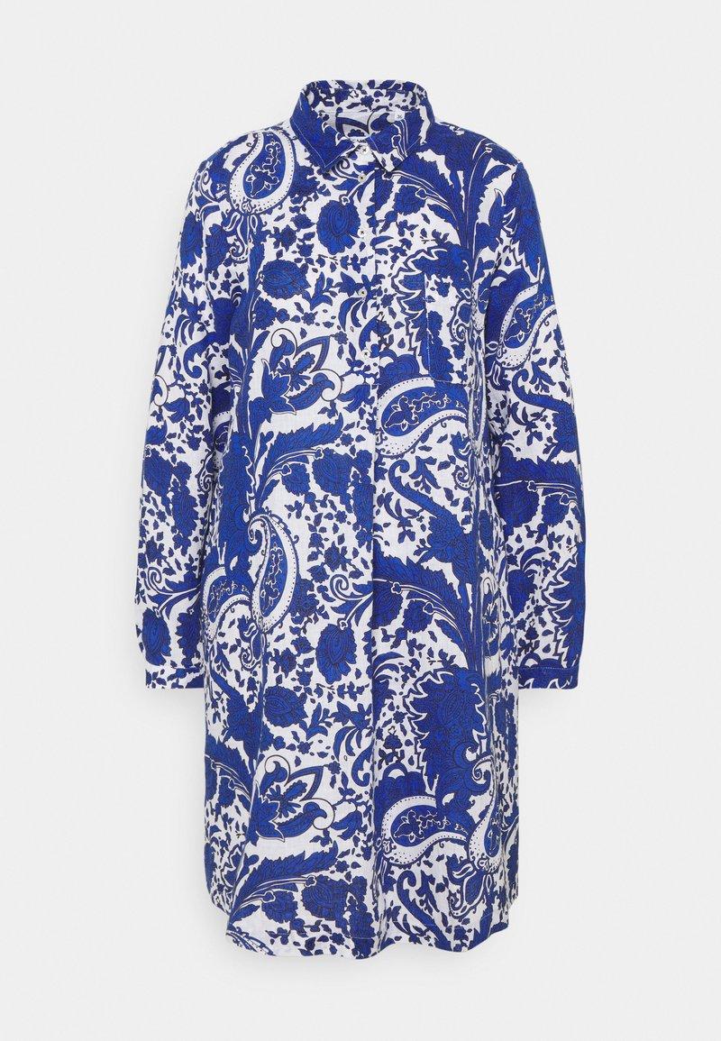 Emily van den Bergh - Skjortekjole - blue