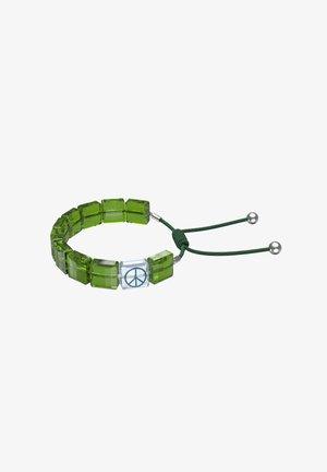 PEACE - Bracelet - green