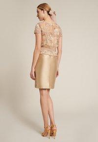 Luisa Spagnoli - PECHINOS - Cocktail dress / Party dress - floreale beige beige - 2