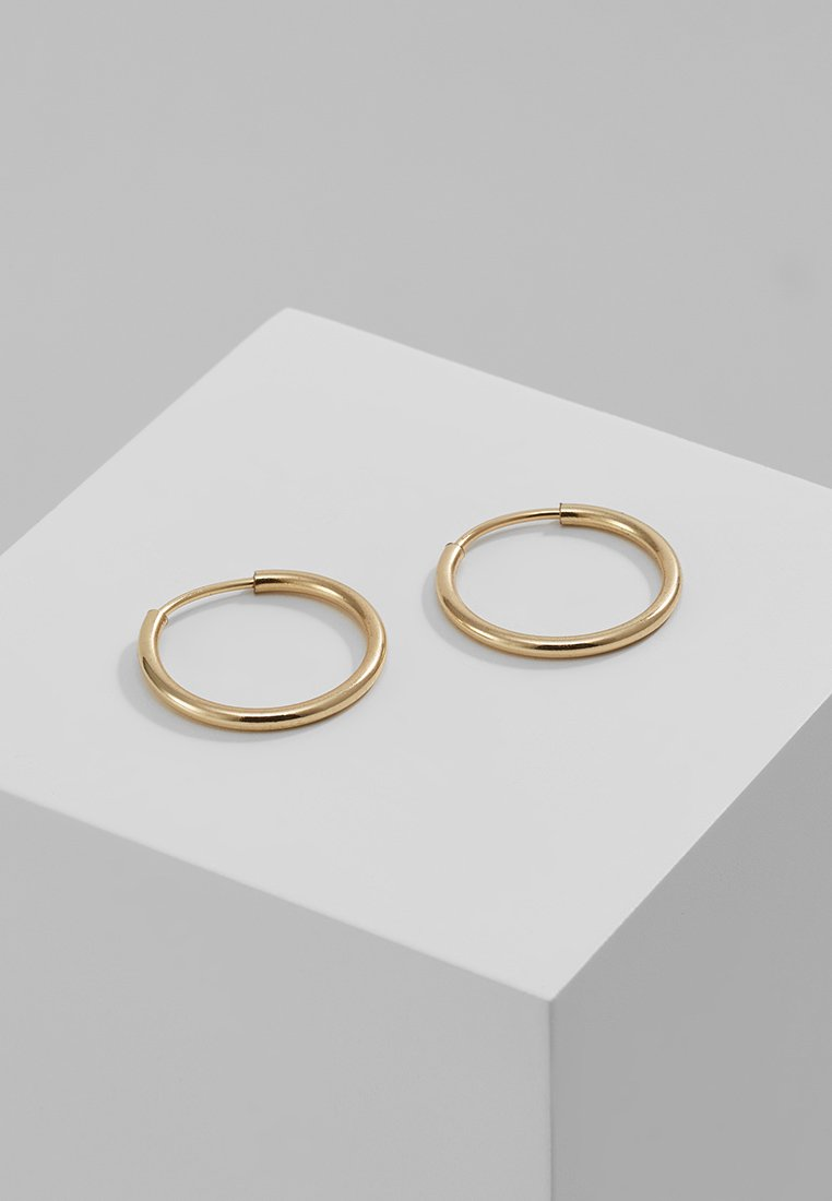 Pilgrim - DIA HOOP - Boucles d'oreilles - gold-coloured