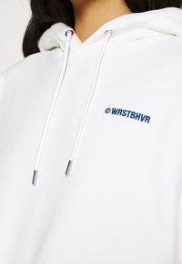 WRSTBHVR - FAITH HOODIE  - Sweatshirt - off white - 4