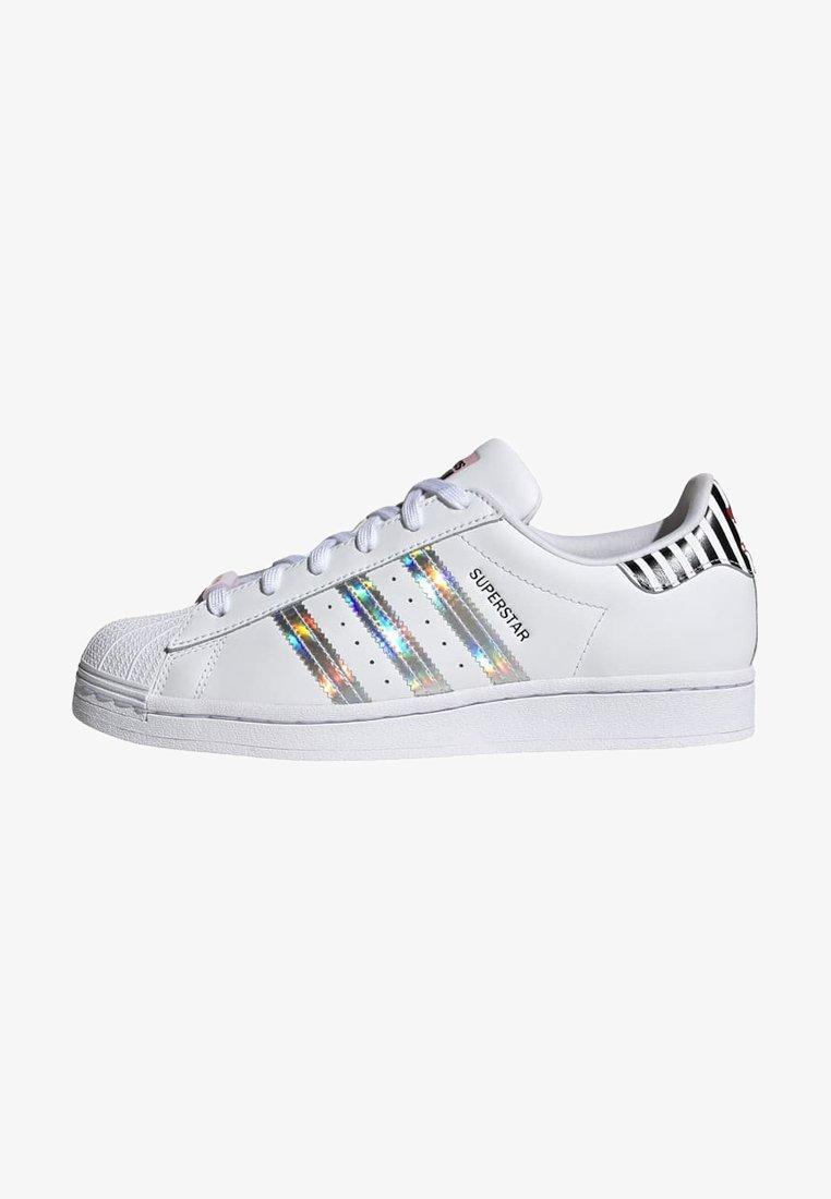 adidas Originals - SUPERSTAR W - Baskets basses - ftwwht/trupnk/cblack