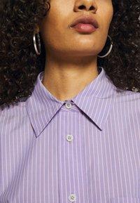 ARKET - SHIRT - Button-down blouse - purple stripe - 6
