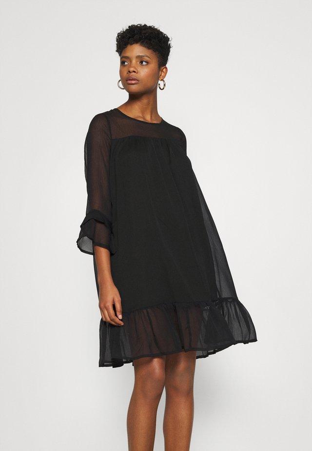 ONYHEATHER DRESS - Denní šaty - black