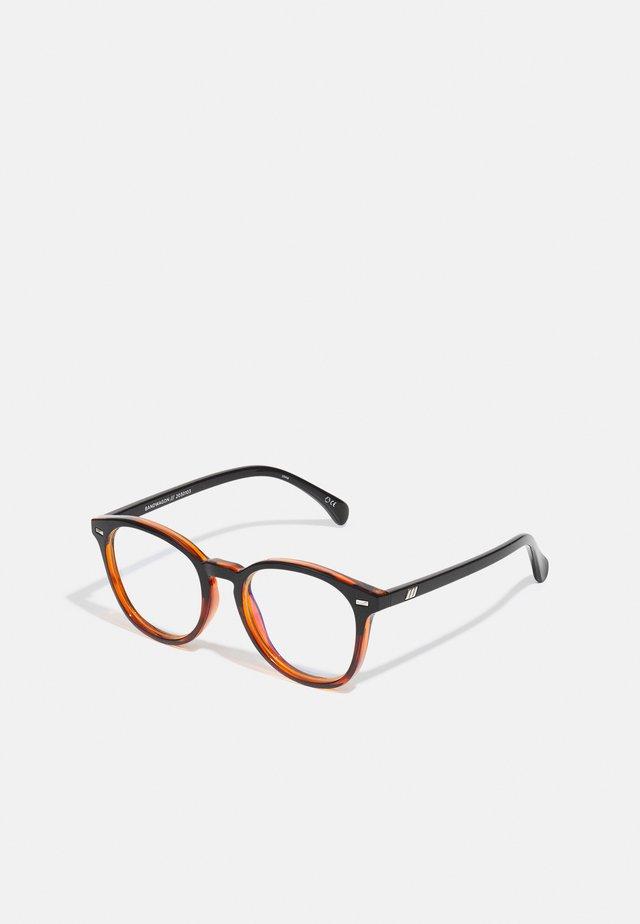 BLUE LIGHT BANDWAGON  - Sluneční brýle - black / tort