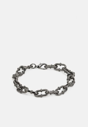 PLAYING WITH FIRE CHAIN LINK BRACELET - Náramek - gunmetal