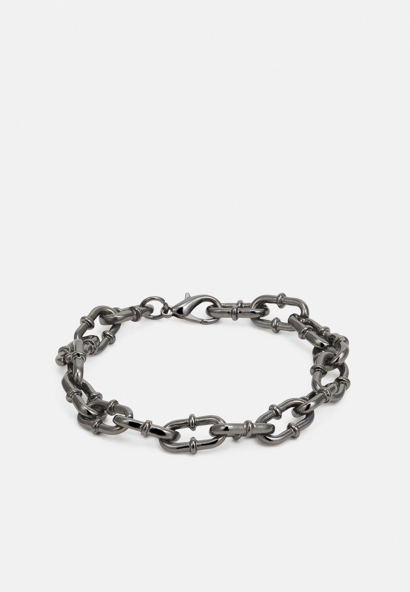 Wild For The Weekend - PLAYING WITH FIRE CHAIN LINK BRACELET - Bracelet - gunmetal