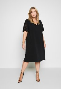 Persona by Marina Rinaldi - DOROTEA - Day dress - nero - 0