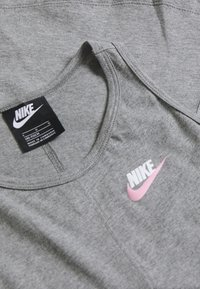 Nike Sportswear - TANK - Top - carbon heather/pink