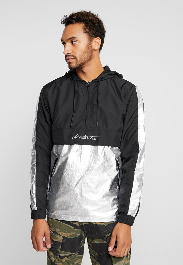 REFLECTIVE WINDBREAKER - Tuulitakki - black