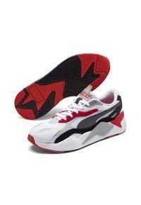 Puma - RS-X UNISEX - Trainers - puma white-high risk red - 2