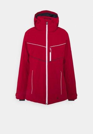 BRILLIANT - Ski jas - dark red