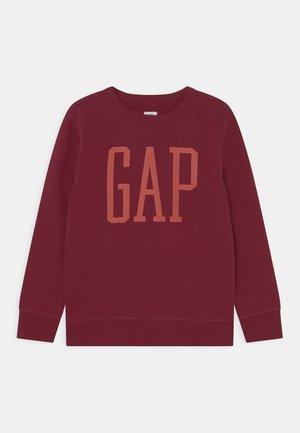 LOGO CREW - Sweatshirt - red delicious
