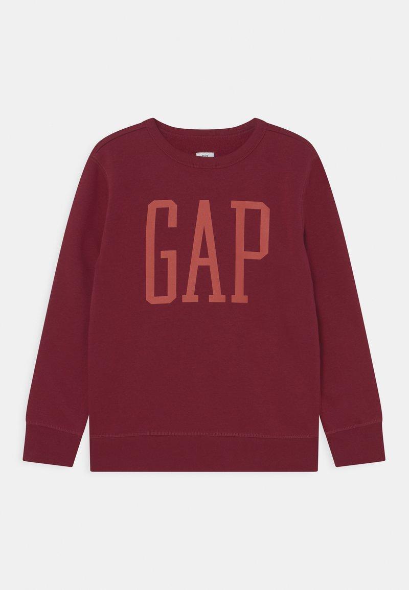 GAP - LOGO CREW - Sweatshirt - red delicious