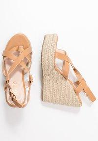RAID - ROCIO - High heeled sandals - dark coral - 3