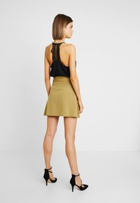 Even&Odd - Falda de tubo - khaki - 2