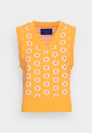 FEELY VEST - Jumper - saffron