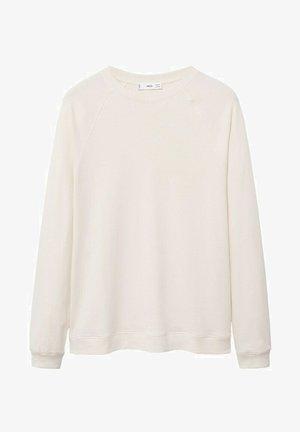 Sweatshirt - open beige