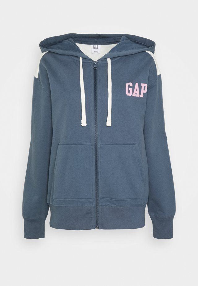 Zip-up hoodie - frozen lake