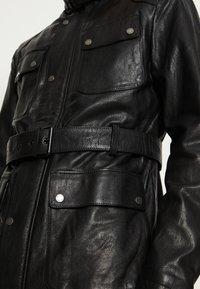 Be Edgy - GARRET - Krátký kabát - black - 5