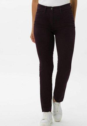 STYLE LORELLA - Trousers - dark purple