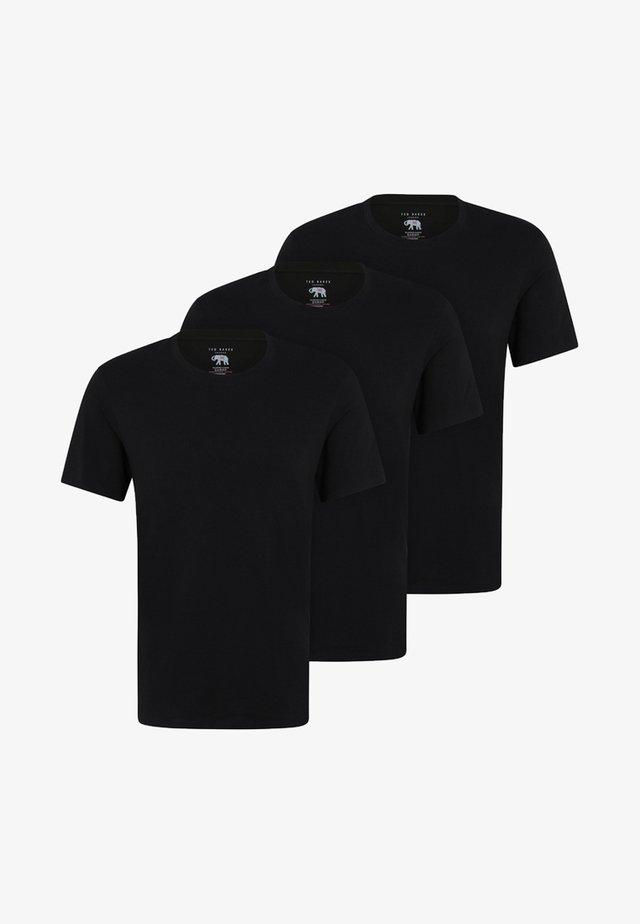 3 PACK - Caraco - black