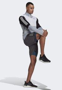 adidas Performance - OWN THE RUN RUNNING 1/2 ZIP SWEATSHIRT - Sweatshirt - grey - 1