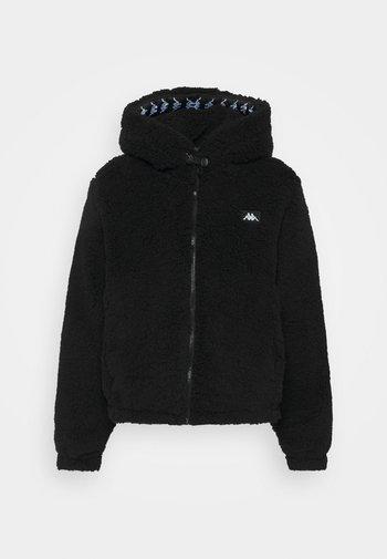 JUFFY - Fleece jacket - caviar