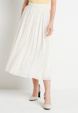 ZALANDO X NA-KD MIDI SKIRT - A-line skirt - off white