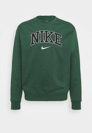 RETRO CREW - Sweatshirt - noble green
