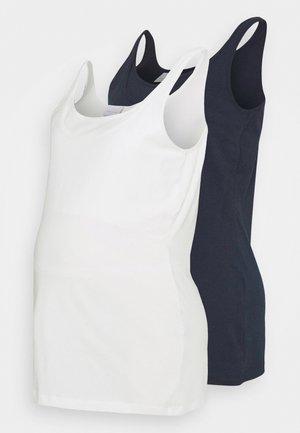 MLSIA NELL TANK 2 PACK - Top - navy/snow white