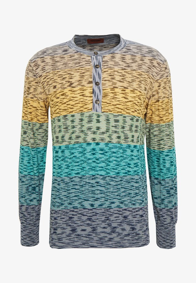 HENLEY - Pullover - blue