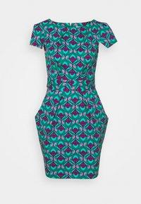 Closet - CHELSEA TULIP - Shift dress - turquoise - 0