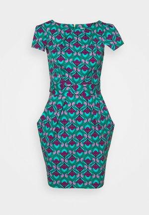 CHELSEA TULIP - Shift dress - turquoise