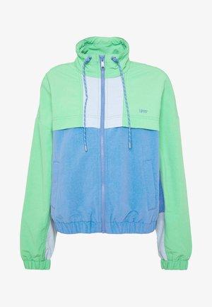 CELESTE WINDBREAKER - Training jacket - absinthe green