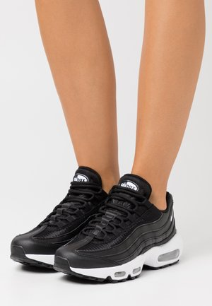 AIR MAX 95 - Sneakers laag - black/white