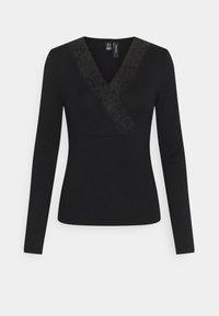 Vero Moda - VMGAIA  - T-shirt à manches longues - black - 4