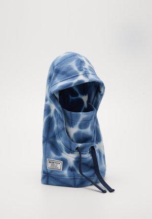 BURKE HOOD - Beanie - blue dailola shibori