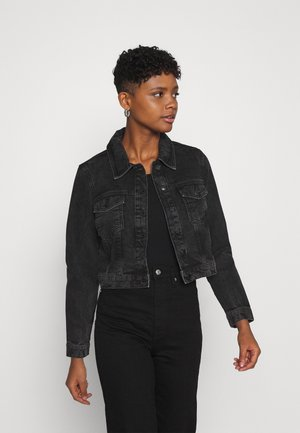VMMIKKY SHORT JACKET - Jeansjakke - black