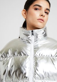 Napapijri - ART METALLIC - Zimní bunda - silver - 4