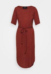 Selected Femme - SLFIVY BEACH DRESS - Žerzejové šaty - red - 6